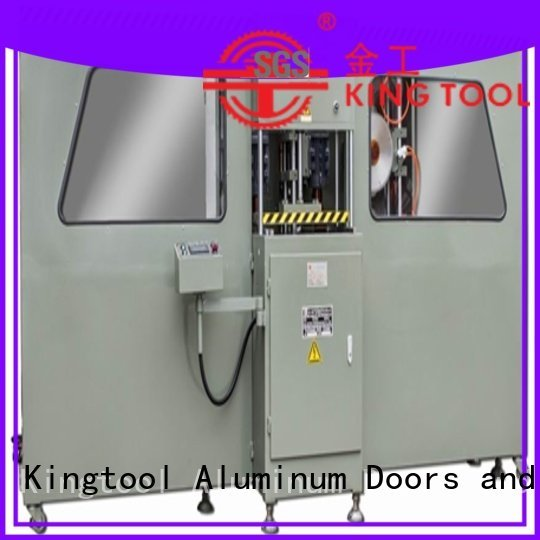 2axis double end head kingtool aluminium machinery aluminium press machine