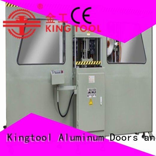 kingtool aluminium machinery Brand end 2axis machine curtain wall machine mitre