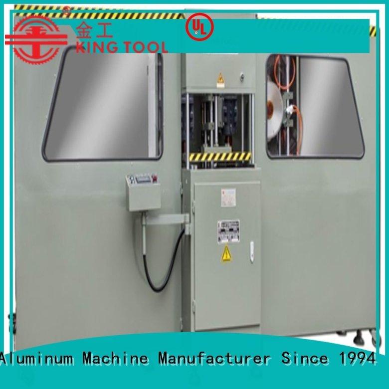 aluminium press machine end curtain OEM curtain wall machine kingtool aluminium machinery