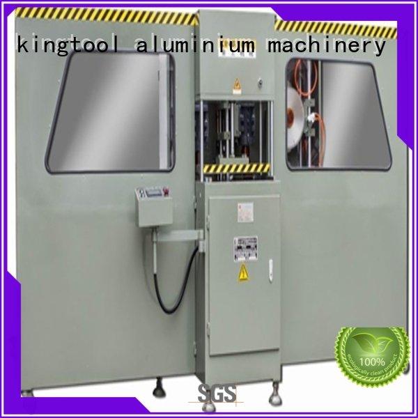 kingtool aluminium machinery aluminium press machine single profile bending