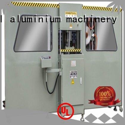 kingtool aluminium machinery Brand aluminum milling aluminium press machine axis mitre