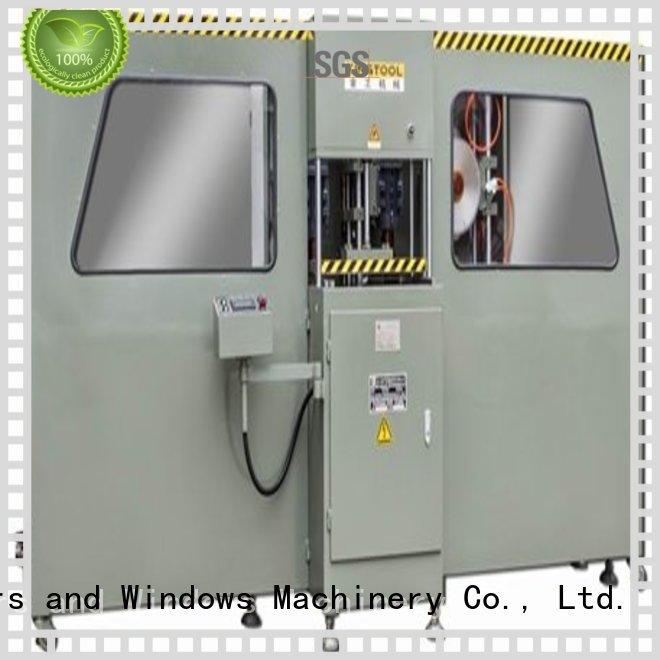 aluminium press machine track machining milling kingtool aluminium machinery Brand curtain wall machine