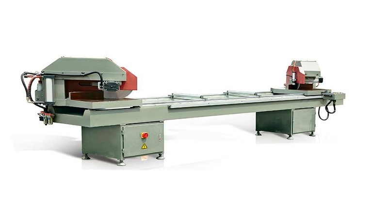 KT-363B/45 Digital Display Double Head 45-Degree Cutting Machine for Aluminum Window Profiles