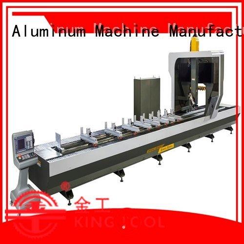 kingtool aluminium machinery cnc router aluminum cutting 3axis aluminium profile