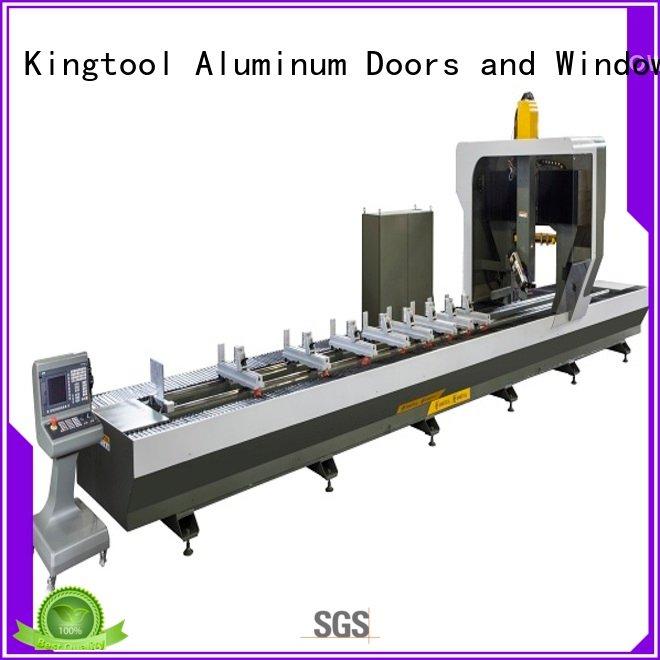 cnc router aluminum head double kingtool aluminium machinery Brand