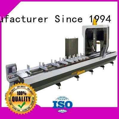 kingtool aluminium machinery Brand aluminum double head aluminium router machine