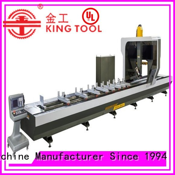 cnc router aluminum cutting router industrial kingtool aluminium machinery Brand company