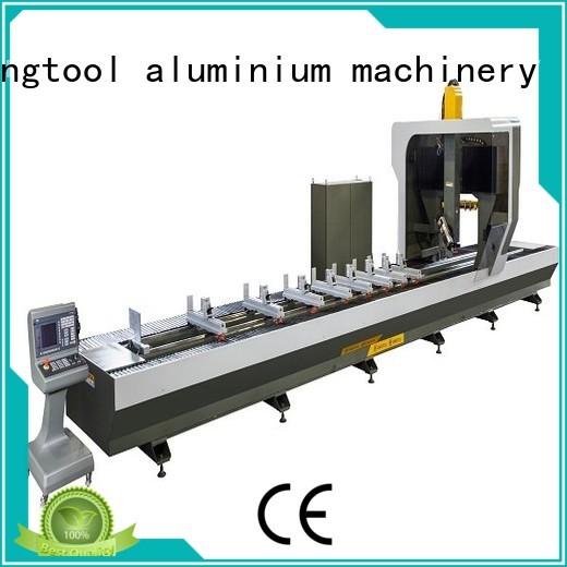 cnc router aluminum double-head 3axis industrial kingtool aluminium machinery Brand aluminium router machine