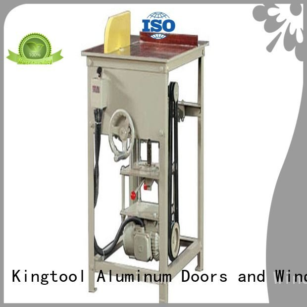 Hot aluminium cutting machine price automatic aluminum single kingtool aluminium machinery Brand