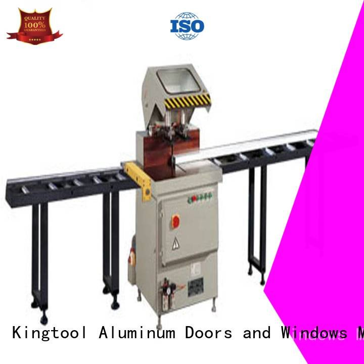 cnc single profile window kingtool aluminium machinery aluminium cutting machine price