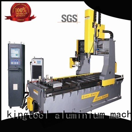 Hot saw curtain wall machine center stir kingtool aluminium machinery Brand
