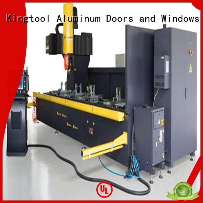 kingtool aluminium machinery machining aluminium router machine aluminum 3axis