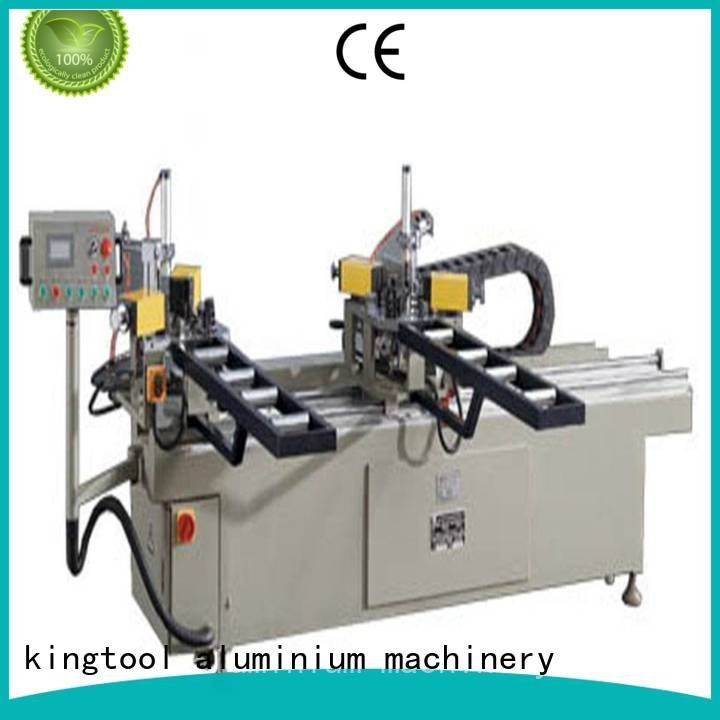 doubl ecorner aluminium crimping machine kingtool aluminium machinery aluminium crimping machine for sale