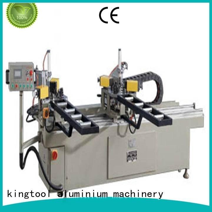 doubl ecorner aluminium crimping machine kingtool aluminium machinery aluminium crimping machine for sale