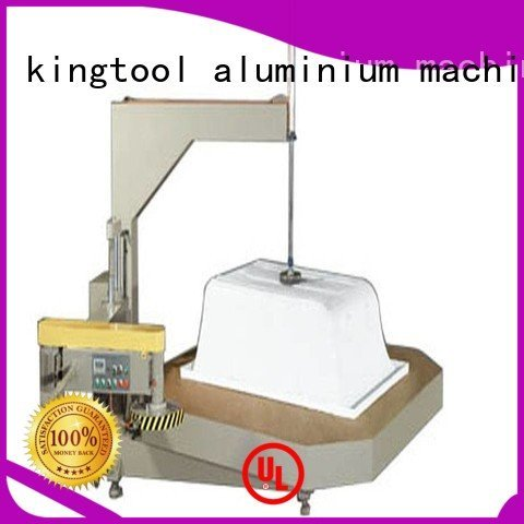 kingtool aluminium machinery Brand digital trimming threeblade Sanitary Ware Machine sanitary