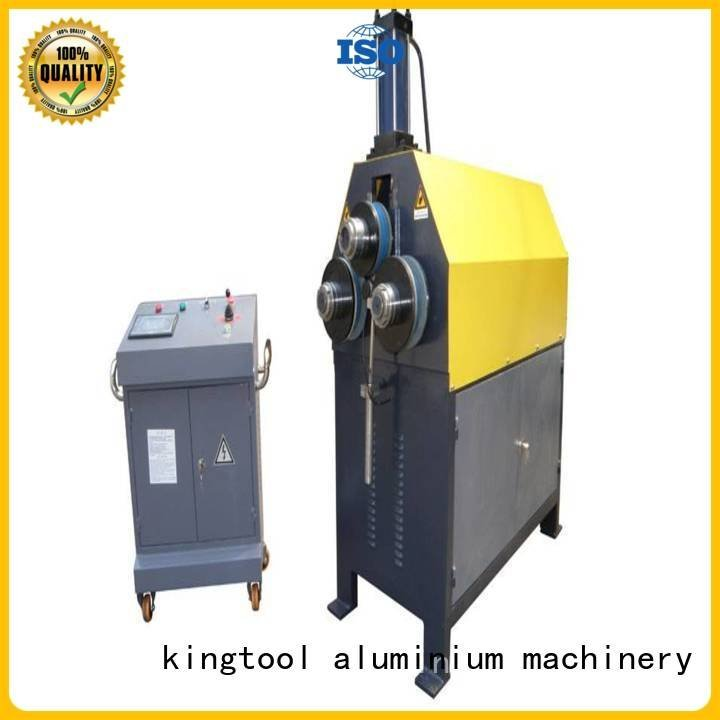aluminium bending machine cnc 3roller kingtool aluminium machinery Brand