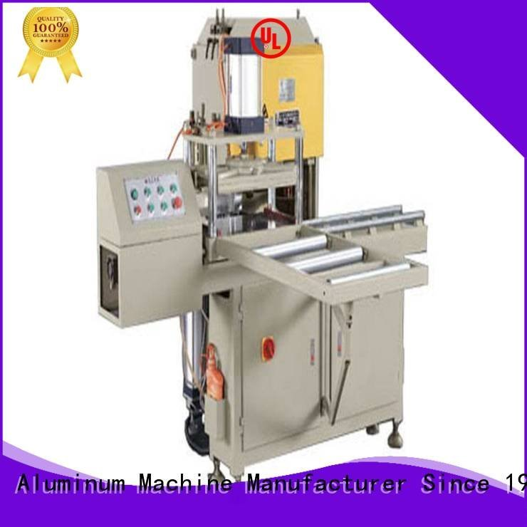 ware notching machine arc kingtool aluminium machinery sanitary profile cutting machine