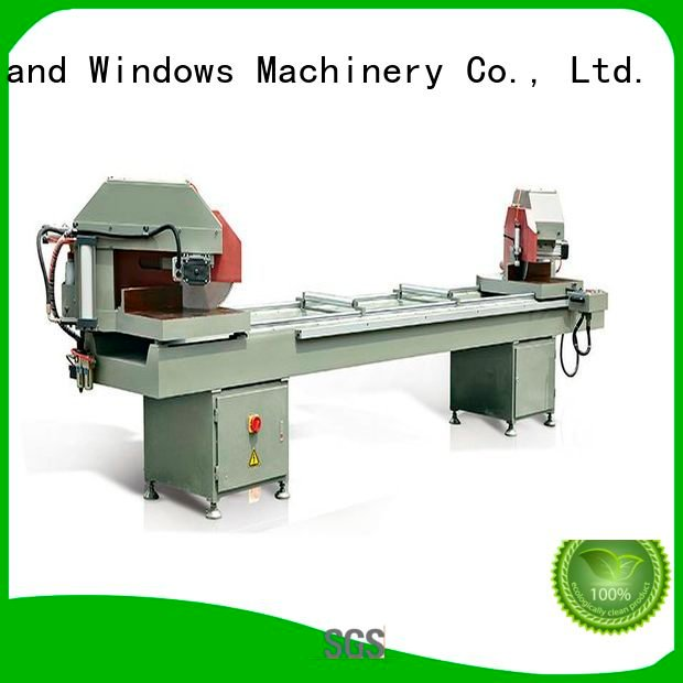thermalbreak duty curtain machine kingtool aluminium machinery aluminium cutting machine