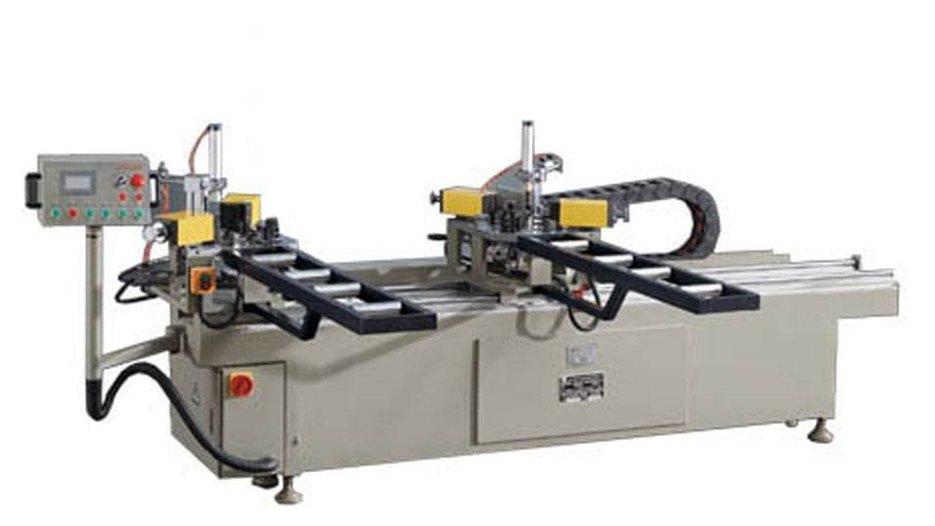 KT-338B Hydraulic Double-corner Aluminum Crimping Machine