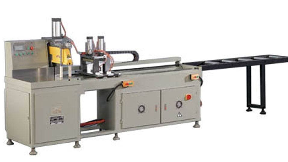 KT-328D Precision Full Automatic  Aluminum Cutting Machine in Heavy Duty