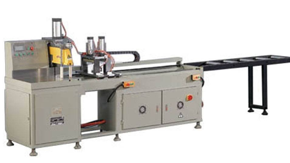 KT-328D Precision Full Automatic  Aluminum Cutting Machine in Heavy Duty