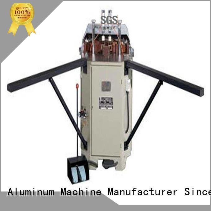 kingtool aluminium machinery aluminium crimping machine for sale corner hermalbreak aluminum