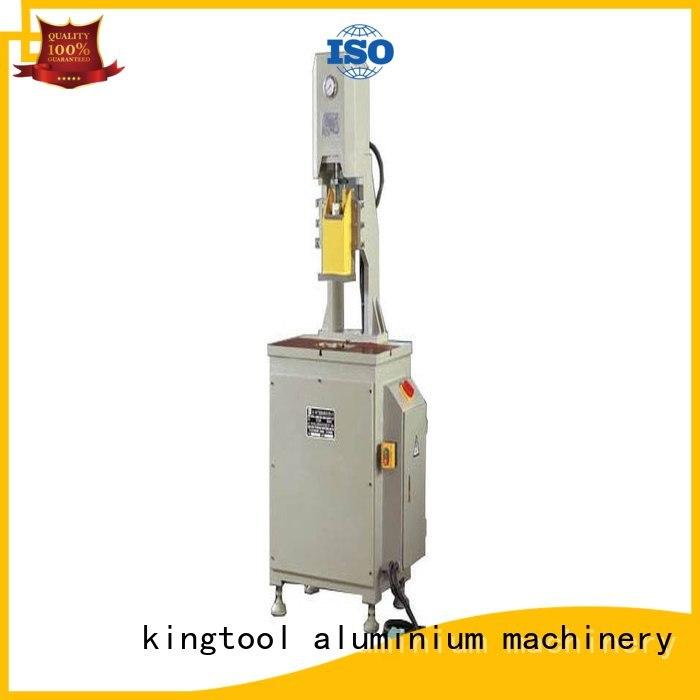 Quality kingtool aluminium machinery Brand aluminium punching machine machine