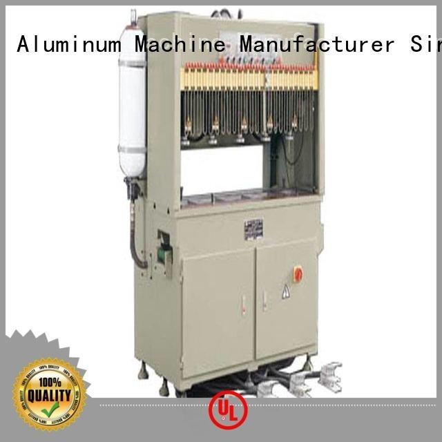 pnumatic punching aluminum punching machine hydraulic kingtool aluminium machinery