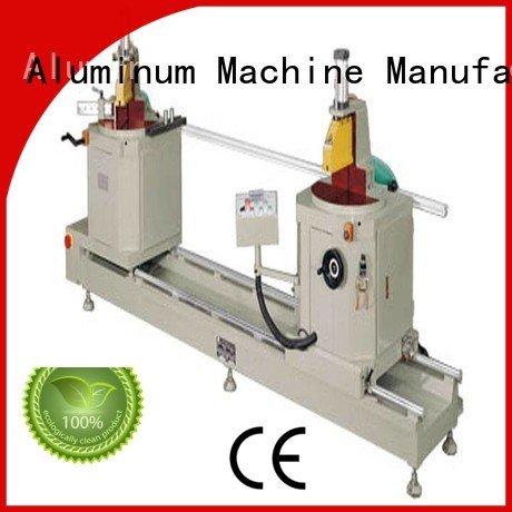 turntable type ware display sanitary profile cutting machine kingtool aluminium machinery