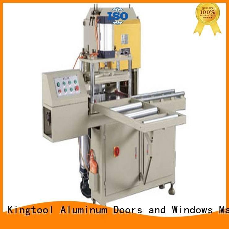 Hot sanitary profile cutting machine saw Sanitary Ware Machine materia kingtool aluminium machinery