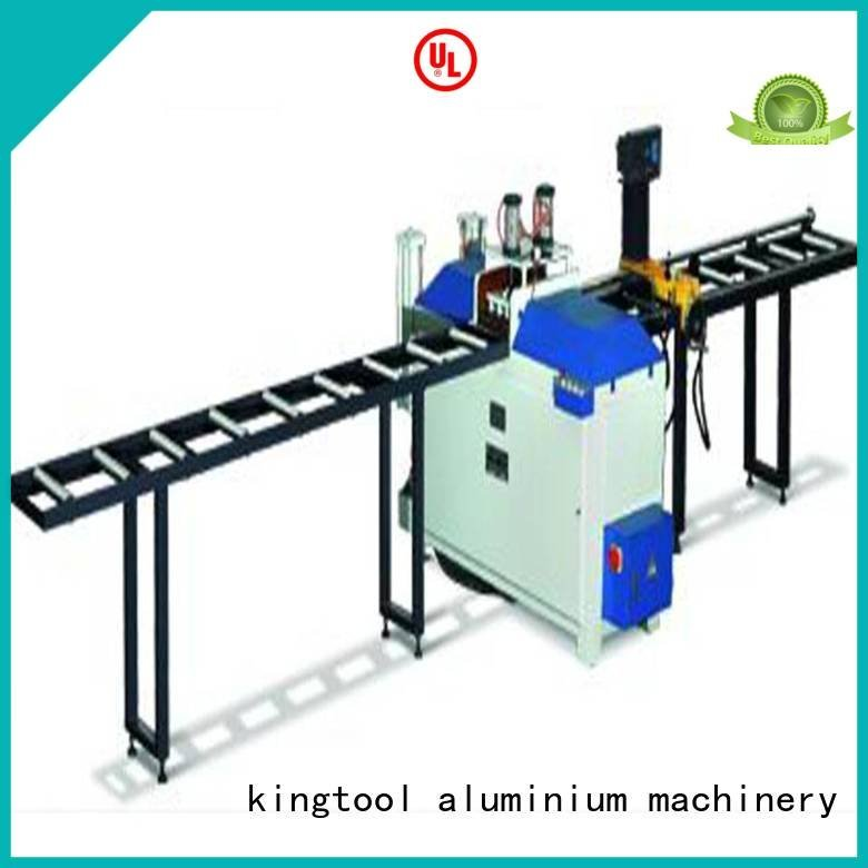 kingtool aluminium machinery angle aluminium cutting machine profiles precision