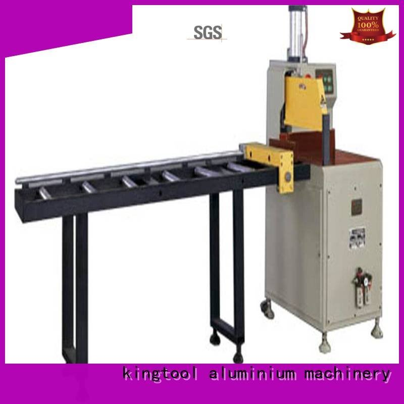 2axis curtain kingtool aluminium machinery aluminium cutting machine price