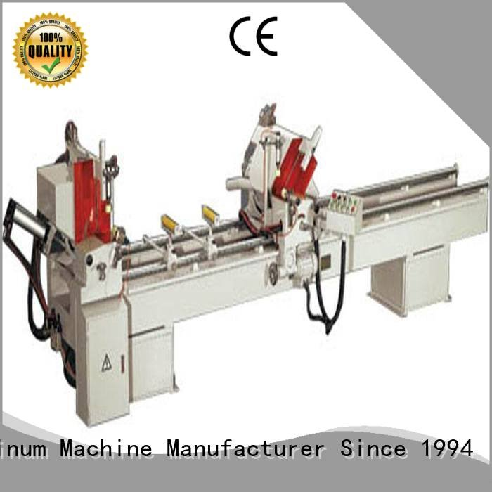 kingtool aluminium machinery Brand display thermalbreak aluminium cutting machine machine single