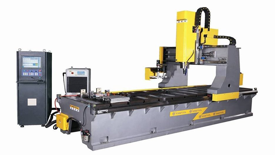 KT-Z400 Friction Stir Welding Machine for Aluminum Profile and Track Profile.