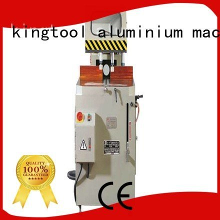 kingtool aluminium machinery machine aluminium cutting machine price readout