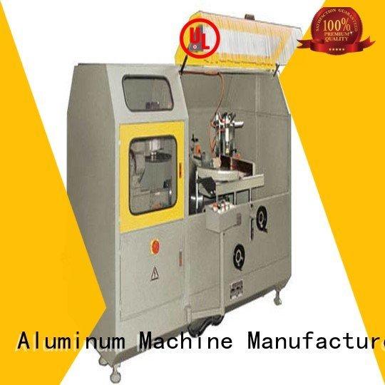 wall aluminium aluminum aluminum curtain wall cutting machine kingtool aluminium machinery