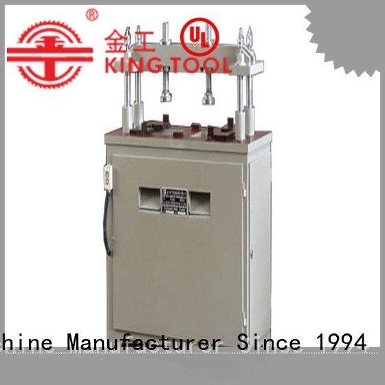 kt373c pnumatic aluminum punching machine machine kingtool aluminium machinery