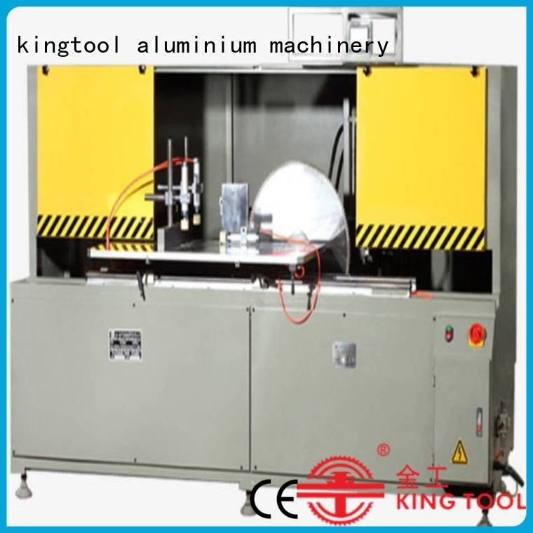 kingtool aluminium machinery Brand single notching saw aluminum curtain wall cutting machine