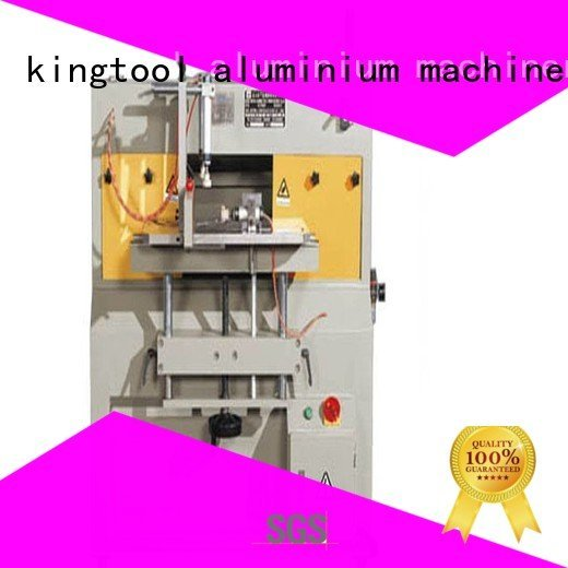 arc curtian milling aluminum end milling machine kingtool aluminium machinery