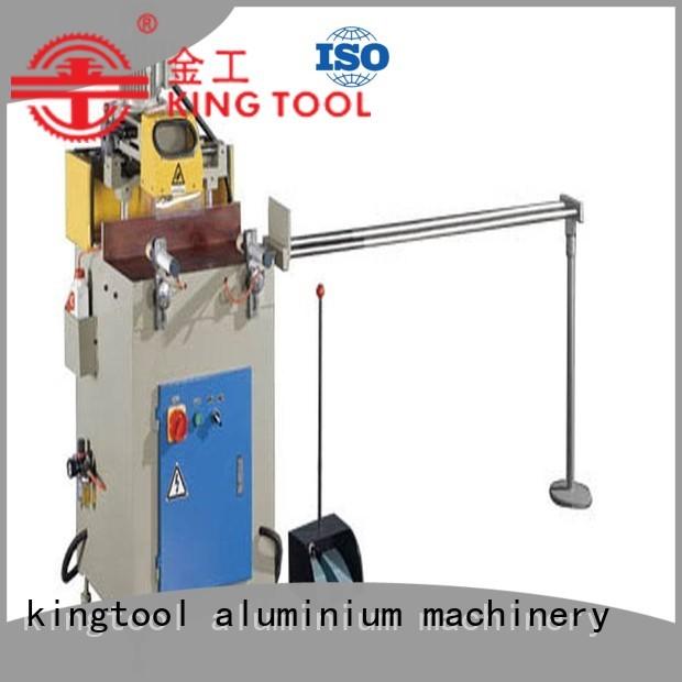 semiautomatic axis single aluminium router machine aluminum kingtool aluminium machinery
