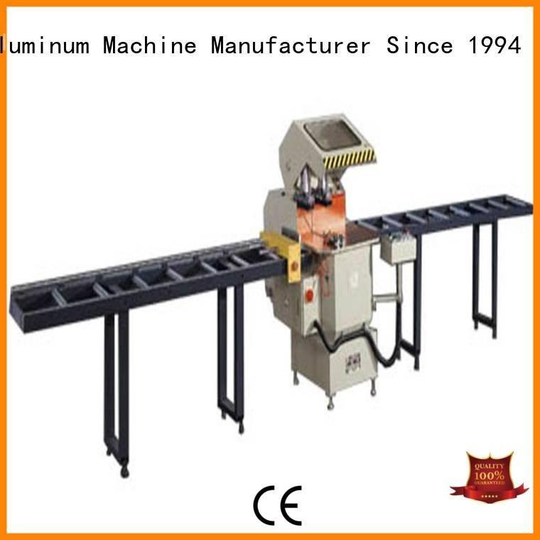 kingtool aluminium machinery Brand angle aluminium cutting machine price display full
