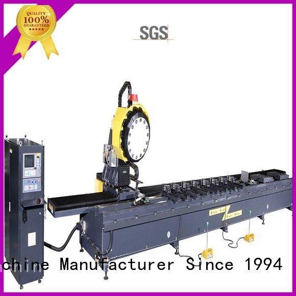 cutting aluminium industrial profile kingtool aluminium machinery aluminium router machine