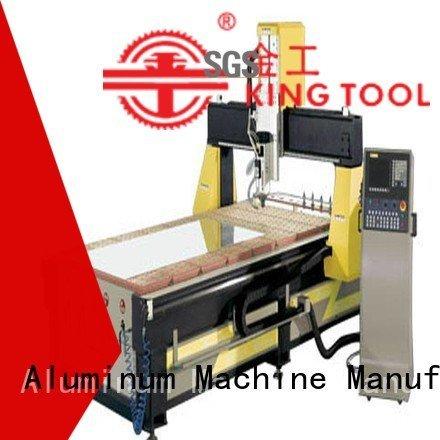 machining industrial cnc router aluminum kingtool aluminium machinery manufacture