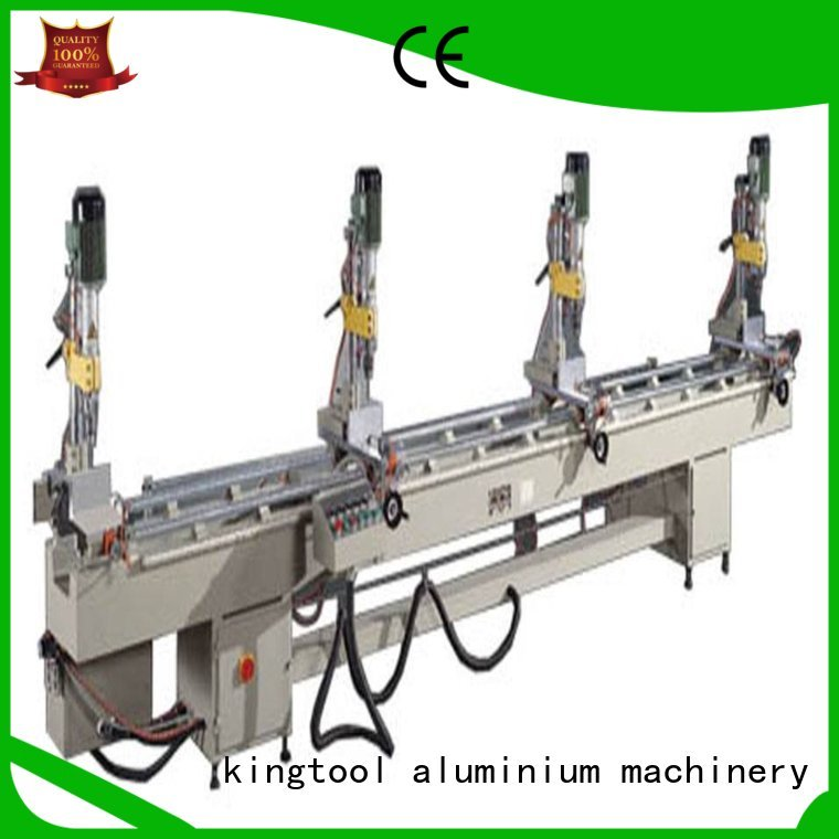 kingtool aluminium machinery Brand machine multihead Aluminium Drilling Machine manufacture