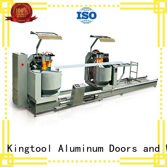 3axis precision profile aluminium cutting machine kingtool aluminium machinery