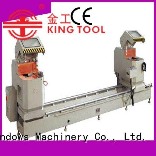 saw multifunction auto feeding profiles kingtool aluminium machinery aluminium cutting machine price