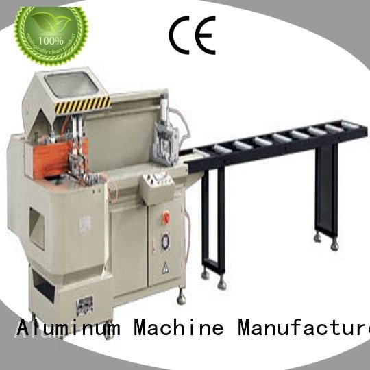 kingtool aluminium machinery Brand 3axis wall aluminium cutting machine price readout heavyduty