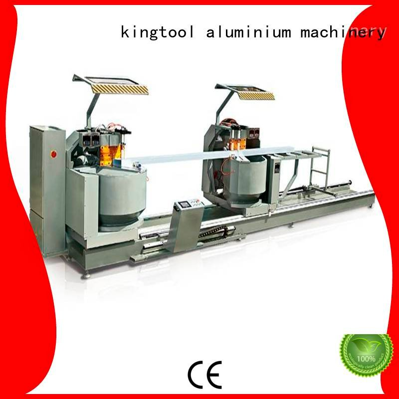 wall aluminium cutting machine 3axis display kingtool aluminium machinery