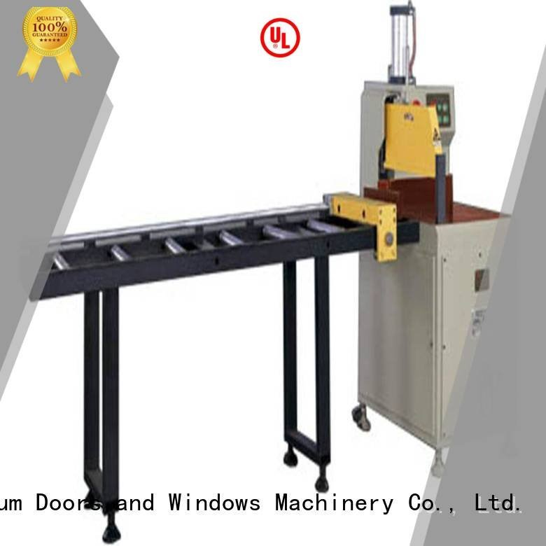Wholesale machine curtain aluminium cutting machine kingtool aluminium machinery Brand