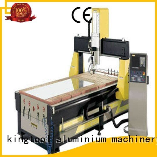 kingtool aluminium machinery Brand aluminum profile ktdg660 aluminium router machine